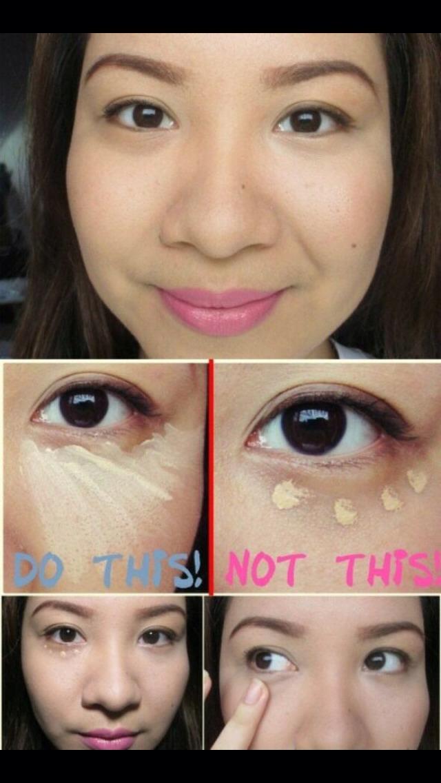 The Proper Way To Apply Under Eye Concealer