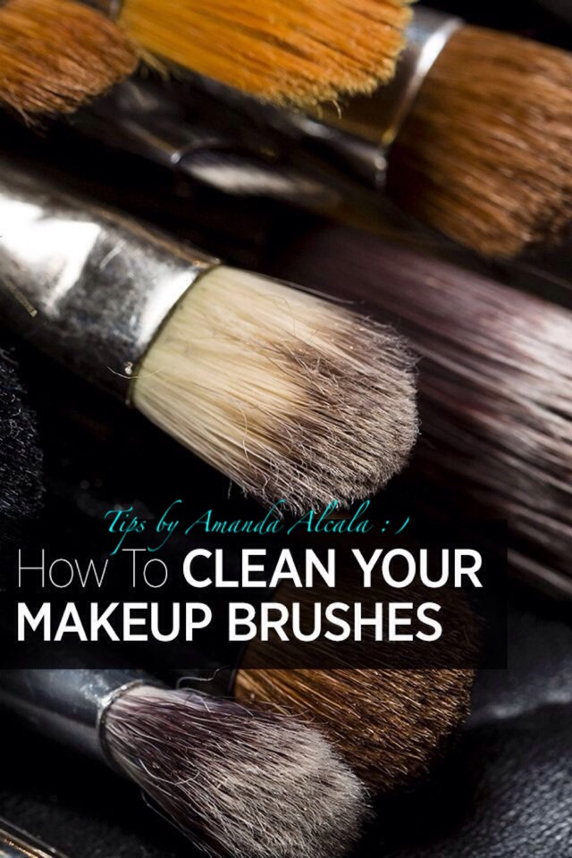 🔹How To Clean Your Makeup Brushes!🔹 #tipit