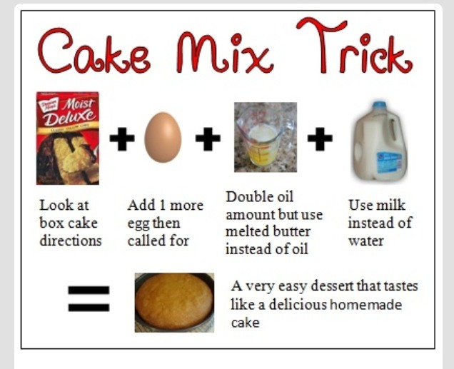 Cake Mix Recipes That Taste Like Bakery: Box Cake Taste Like It's From The Bakery