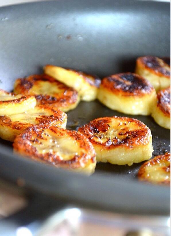 😄 Fried Honey Banana 😄
