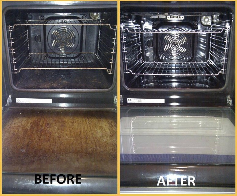 ✨Easy Way To Clean Your Oven ✨
