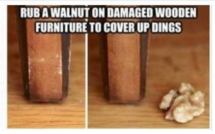 Get rid of dings on wooden furniture trusper for Get rid of furniture