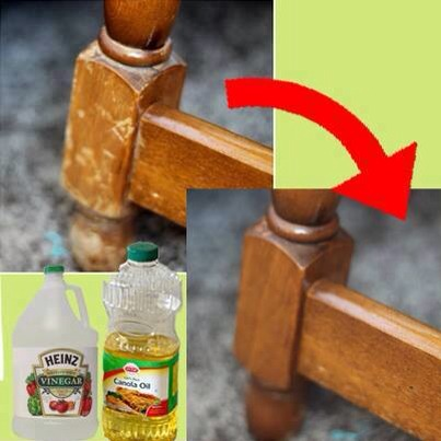 Repair Wood Easily With These 2 Ingredients!