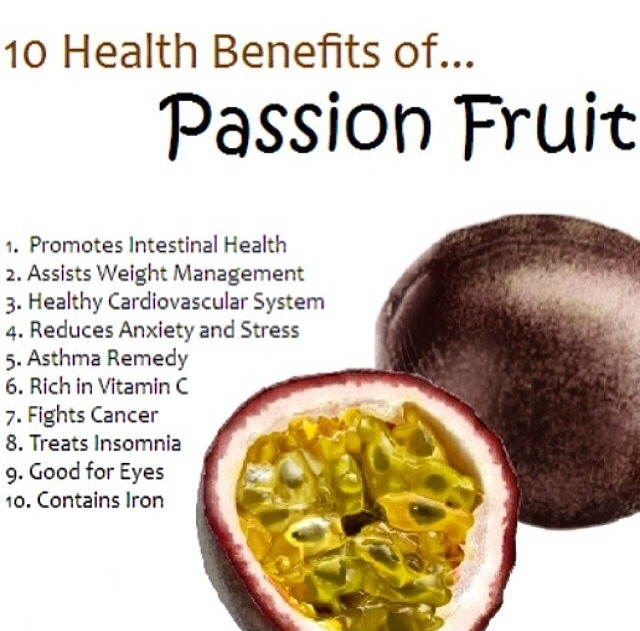 is passion fruit healthy why are fruits healthy