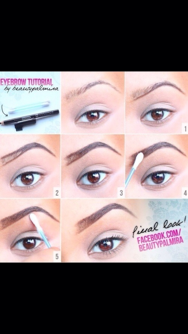 how to create perfect eyebrows with makeup