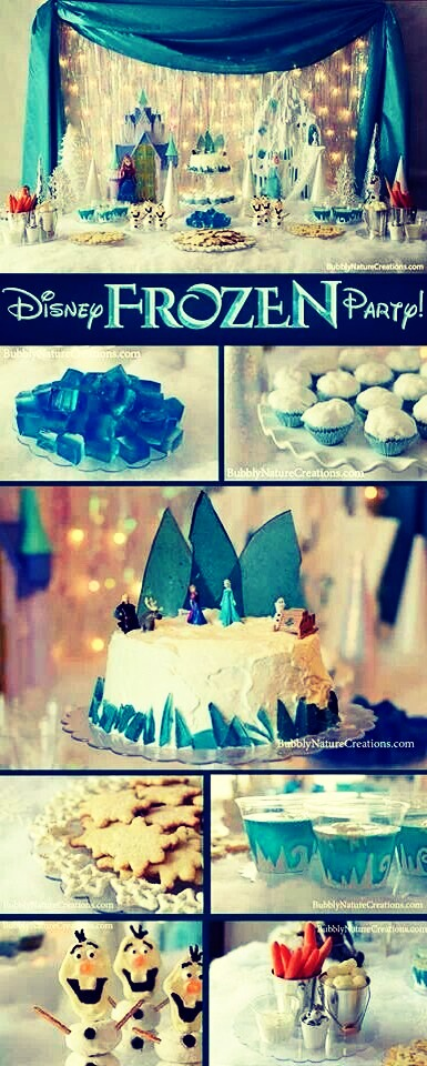 Frozen Party Ideas(: