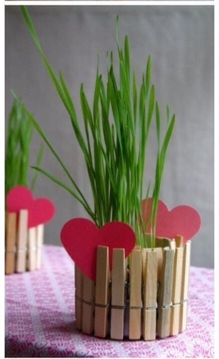 Cute Idea For A Plant Holder. (: