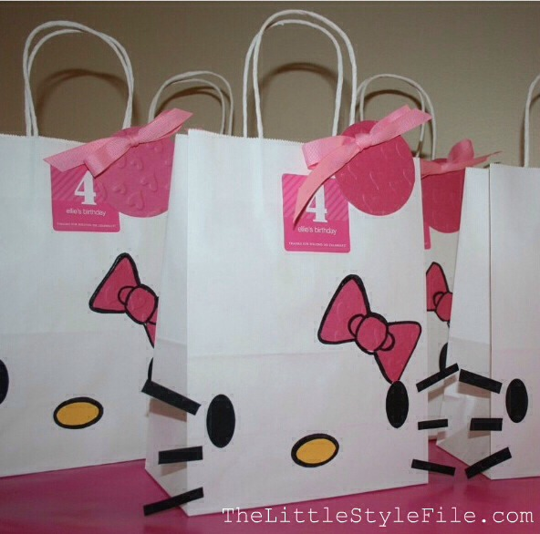 🐱🎉Diy Hello Kitty Gift Bags And Cards🎉🐱