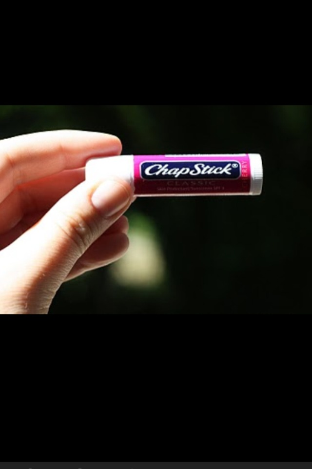 When You Get A Paper Cut, Just Put A Little Bit Of Chapstick For Instant Relief.