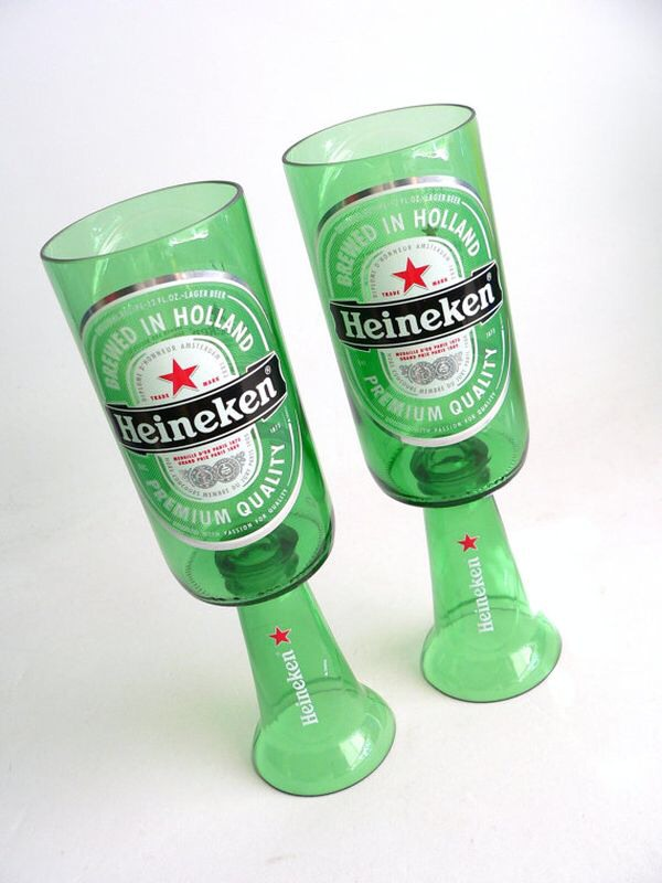 Turn glass bottles into cups and use them as amazing decor for How to cut the bottom of a glass bottle