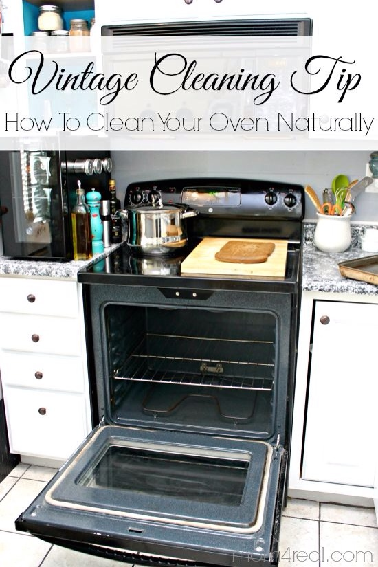 Best Way to Clean an Oven (+ Natural Oven Cleaner ...
