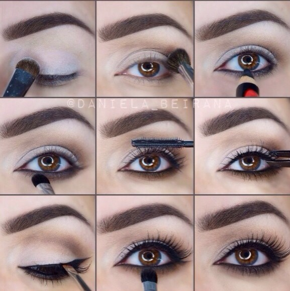Light Brown Eye Makeup 9 Steps 🎀
