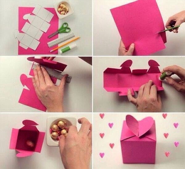 Heart Shaped Pop Up Gift Box