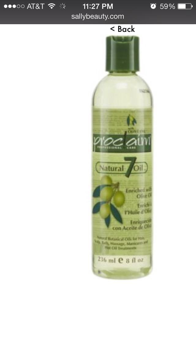 Proclaim Natural  Olive Oil