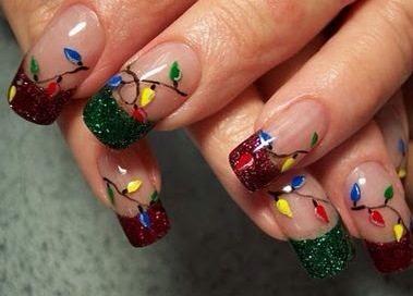 christmas nail designs  trusper