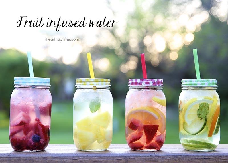 DIY Fruit Infused Detox Water 🙌🏻🙏🏻