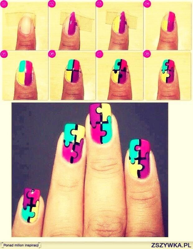 Рисунки на ногтях своими руками для начинающих