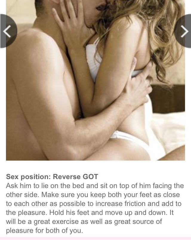 sexual positions to lose weight