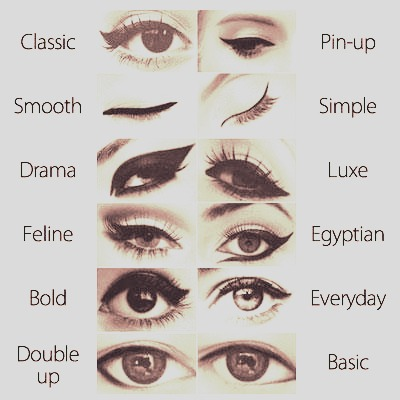 Different Styles Of Eyeliner Images amp Pictures Becuo