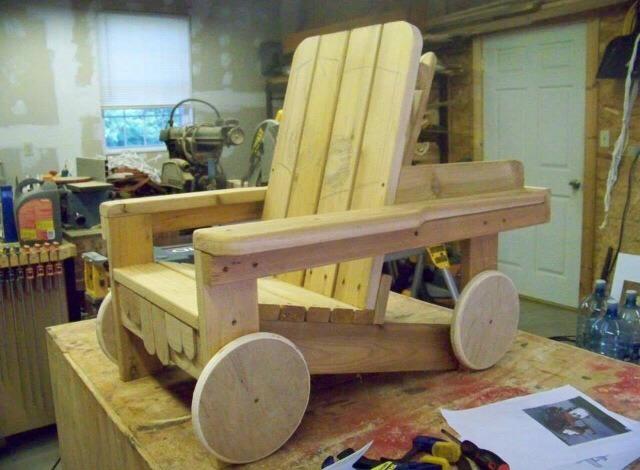 Diy Quot Tow Mater Quot Adirondack Chair 👍 Trusper