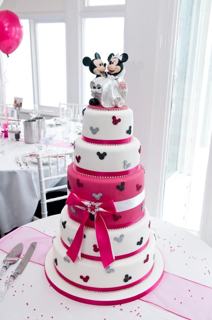 Disney Wedding Cake Images : Disney Inspired Wedding Cakes! Trusper
