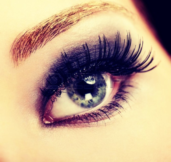 how to make your own fake eyelashes