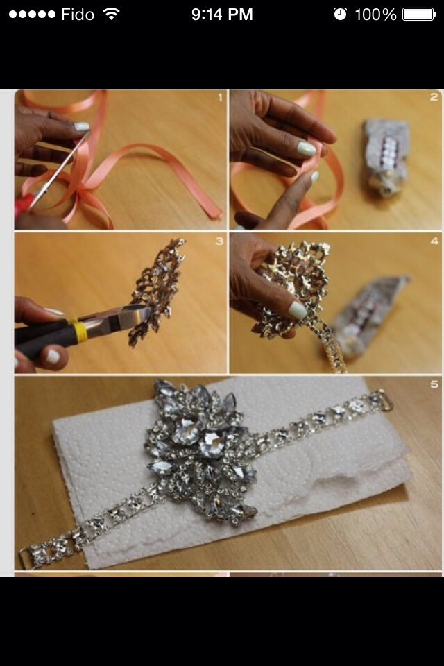 DIY great gatsby headband