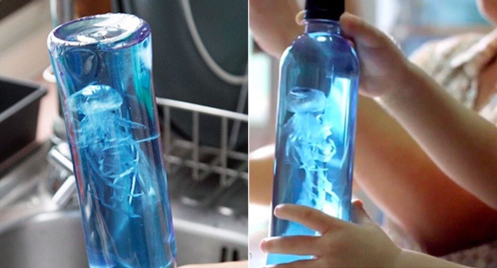 Diy Jelly Fish In A Bottle Craft
