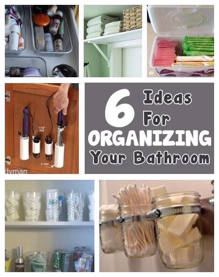 6 Brilliant Ideas For Organizing Your Bathroom Trusper