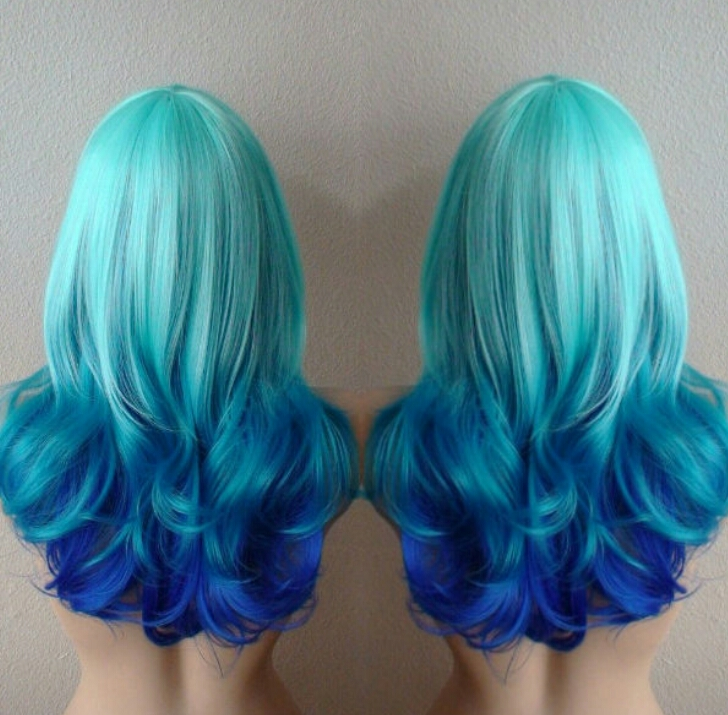 Teal Blue Purple Hair Ideas Trusper