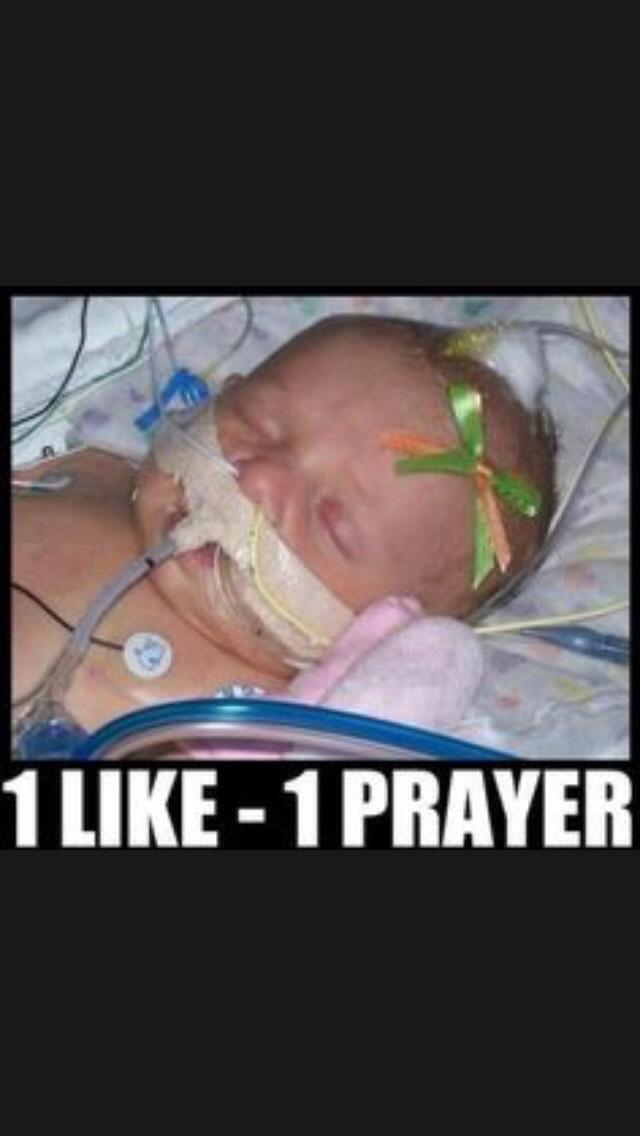 One Like = One Prayer