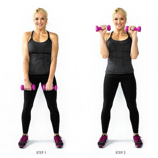 17 Free Weight Exercises For Toned Arms | Trusper
