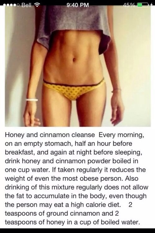 Honey And Cinnamon Cleanse💕‼️‼️👍🏻