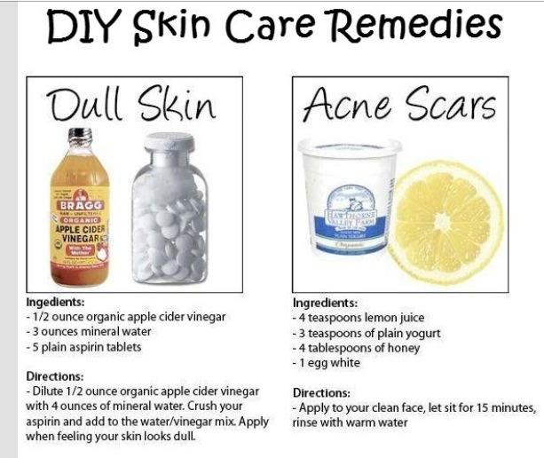 Diy Skin Care: DIY Skin Care Fixes