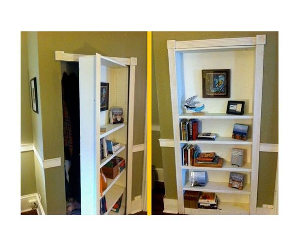 how to build your own hidden door bookcase trusper. Black Bedroom Furniture Sets. Home Design Ideas
