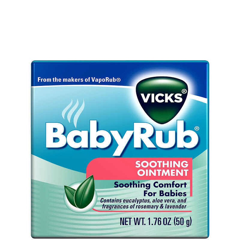 Is your baby congested stuffy noses and colds makes mommy for Putting vicks on the bottom of your feet