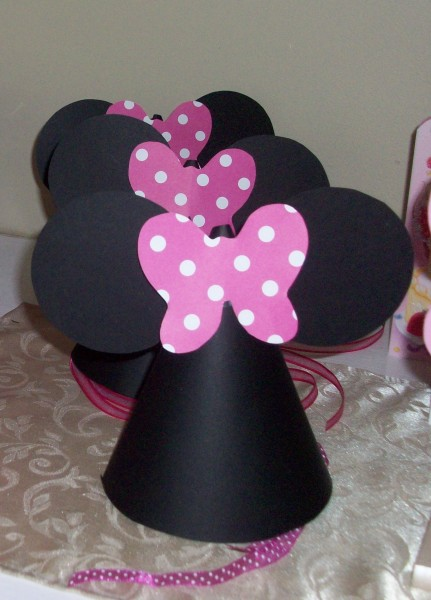 Diy Minnie Mouse Party Decorations Diy Minnie Mouse Party Hats