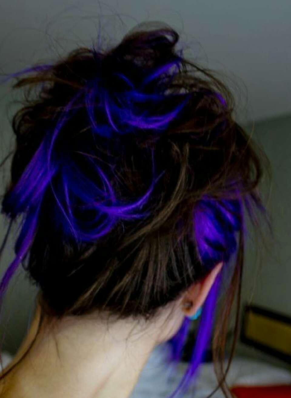 Teal Blue Purple Hair Ideas Trusper
