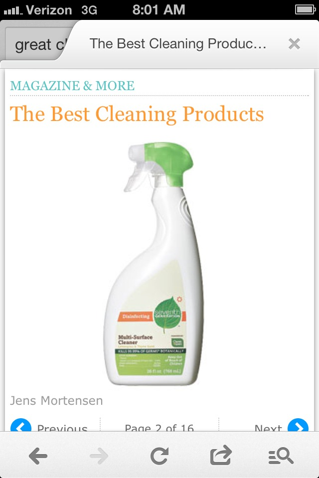 The Best Cleaning Spray