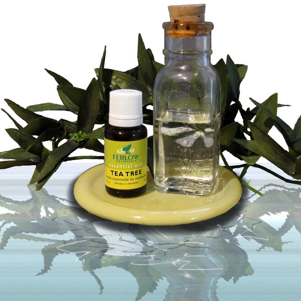 Tea tree oil Is great for clearing blackheads, drying out pimples, and shrinking pores!  Just make sure you dilute the tea tree oil with water. Straight tea tree oil can be too harsh for your face.