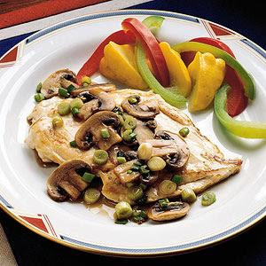 Chicken Marsala Low-calorie