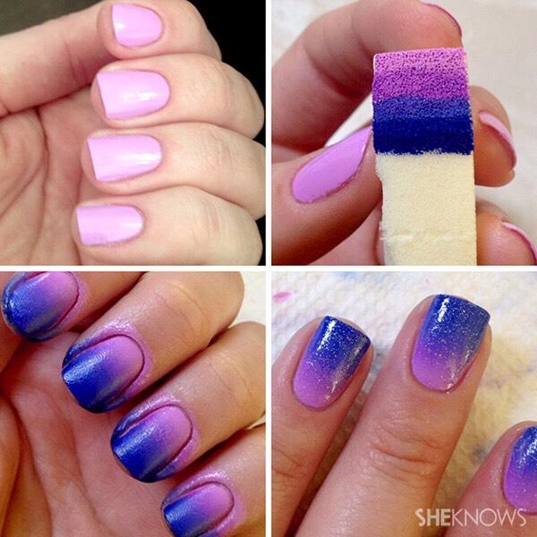 ombré nails! 😻💅