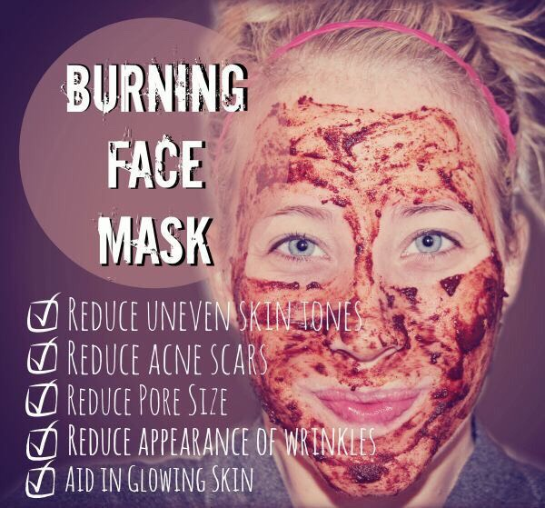 Burning Face Mask