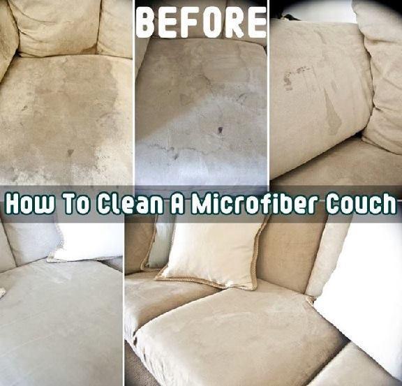 Clean Your Microfiber Sofa