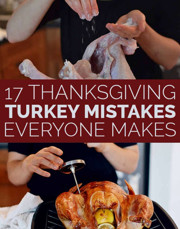 17 thanksgiving turkey mistakes everyone makes trusper for How long does it take to cook a 8lb turkey