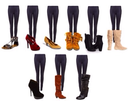 What shoes to wear With Leggings