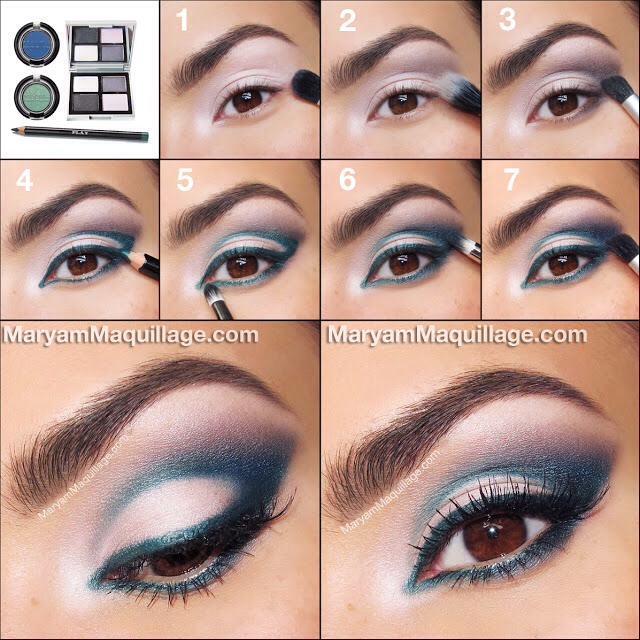 how to make brown eyes look really pretty