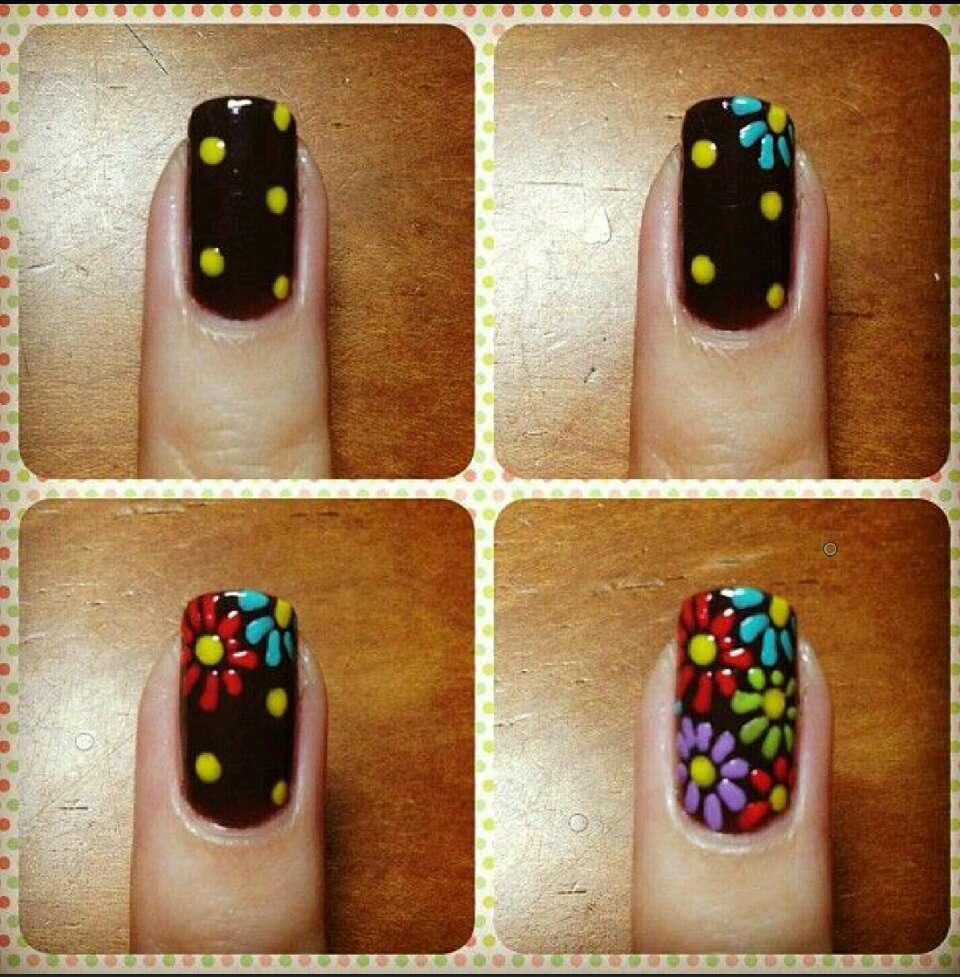 Видео уроки по Дизайн ногтей акриловыми красками