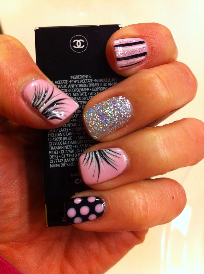 Trendy Gel Nail Design Ideas: 60 Unique & Trendy Nail Designs-Never Look Anywhere Again