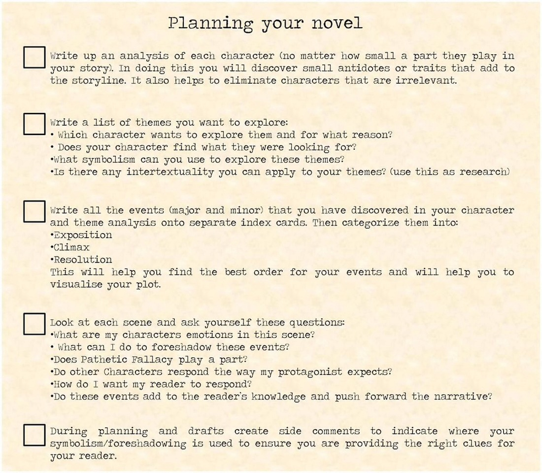 how to start writing a novel tips Ten top tips for writing a novel updated tuesday break the back of that novel you're writing with these top tips from the author of start writing.
